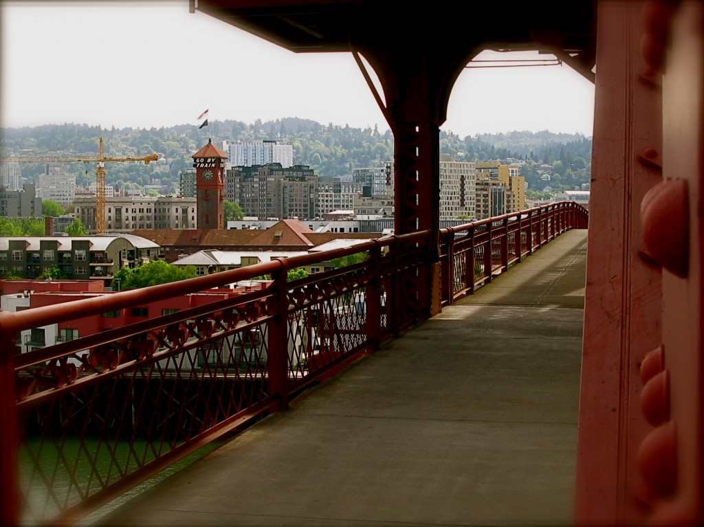 Broadway Bridge, May 17, 2010 Portland, Oregon
