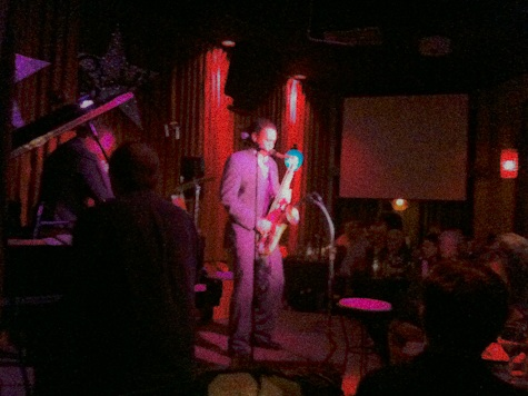 color photo of sax player devon philips