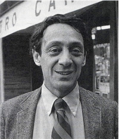 Harvey Milk, the first openly gay elected official in the US.